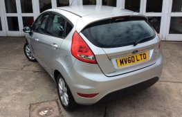 Ford Fiesta 1.25 Zetec 5dr rear