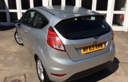 Ford Fiesta 1.25 Zetec 3dr rear